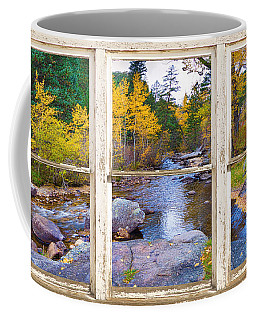 Happy Place Picture Window Frame Photo Fine Art Coffee Mug