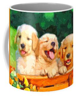 Happy Puppies Coffee Mug