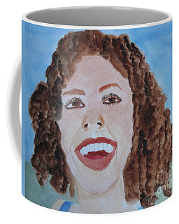 Happy Coffee Mug by Sandy McIntire