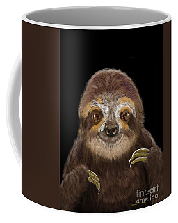 Happy Three Toe Sloth Coffee Mug