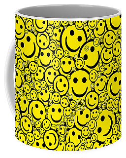 Happy Smiley Faces Coffee Mug