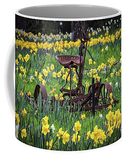 Happy Spring Coffee Mug by Mitch Shindelbower