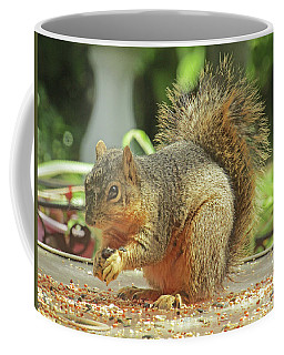 Happy Squirrel Coffee Mug