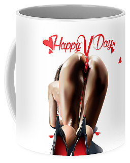 Happy Vagina Day Or Valentines Xox Coffee Mug