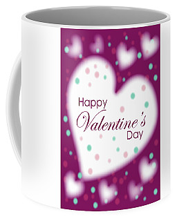 Happy Valentine's Day Coffee Mug by Hye Ja Billie