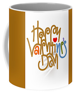 Happy Valentine's Day Poster Coffee Mug