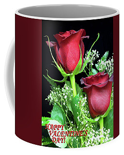 Coffee Mug featuring the photograph Happy Valentines Day by Sandi OReilly
