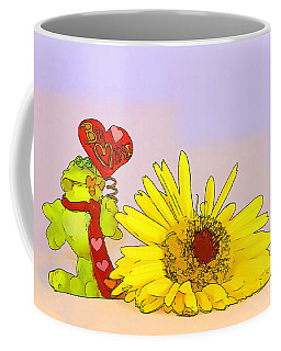 Coffee Mug featuring the photograph Happy Valentine's Day by Teresa Zieba