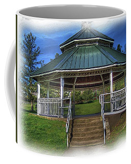 Coffee Mug featuring the photograph Happy Valley Gazebo Art  by Thom Zehrfeld