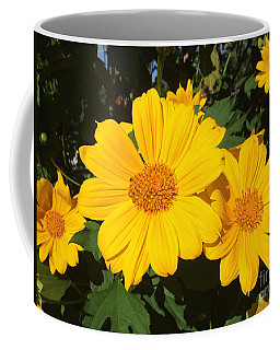Coffee Mug featuring the photograph Happy Yellow by LeeAnn Kendall