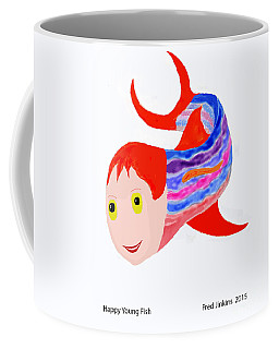 Happy Young Fish Coffee Mug