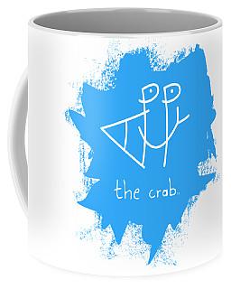 Happy The Crab - Blue Coffee Mug