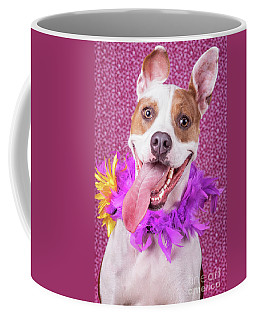 Hapy Dog Coffee Mug by Stephanie Hayes