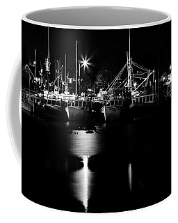 Harbor At Night Coffee Mug