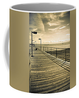 Harbor Beach Michigan Boardwalk Coffee Mug