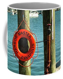 Harbor Life Preserver Coffee Mug