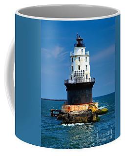 Harbor Of Refuge Lighthouse Coffee Mug