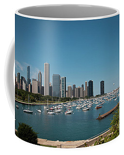 Harbor Parking In Chicago Coffee Mug