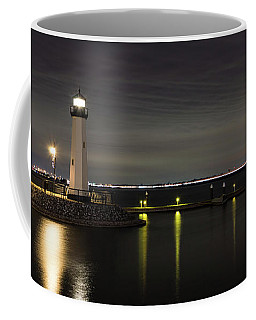 Harbor Rockwall Lighthouse Coffee Mug
