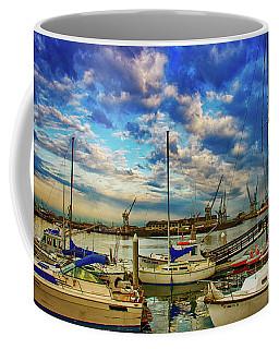 Harbor Scene Coffee Mug