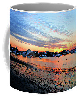 Harbor Sunset At Low Tide Coffee Mug