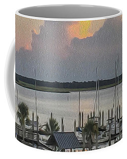Harbor The Evening Coffee Mug