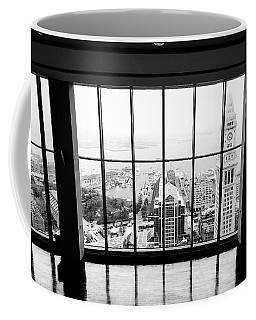 Coffee Mug featuring the photograph Harbor View by Greg Fortier