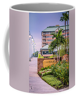 Coffee Mug featuring the photograph Harbour Island Retreat by Carolyn Marshall