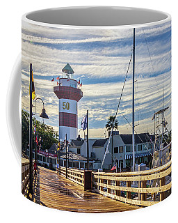 Coffee Mug featuring the photograph Harbour Town Lighthouse by Randy Bayne