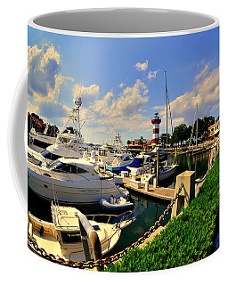 Harbour Town Marina Sea Pines Resort Hilton Head Sc Coffee Mug