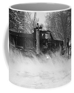 Coffee Mug featuring the photograph Hard At Work by Viviana  Nadowski