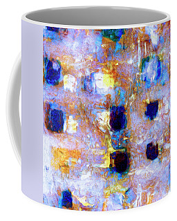 Coffee Mug featuring the painting Hard Eight by Dominic Piperata