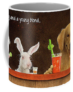 Hare Of The Dog And A Young Blond... Coffee Mug