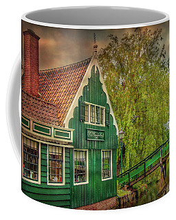 Coffee Mug featuring the photograph Haremakerij At The Brook by Hanny Heim
