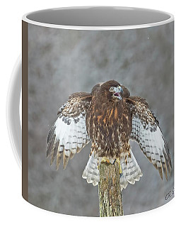 Harlan's Hawk Coffee Mug