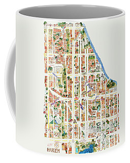 Harlem From 106-155th Streets Coffee Mug