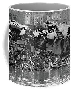 Harlem River Junkyard, 1967 Coffee Mug by Cole Thompson