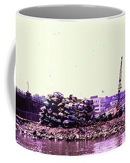 Harlem River Junkyard Coffee Mug by Cole Thompson