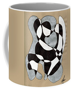 Harlequin Abtracted Coffee Mug