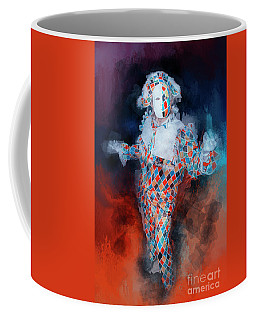 Harlequin Coffee Mug by Jack Torcello