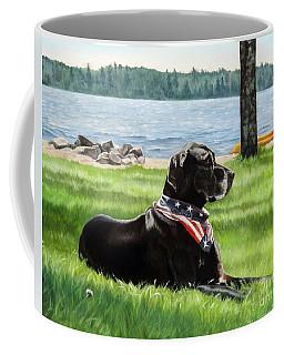 Harley At The Beach Coffee Mug