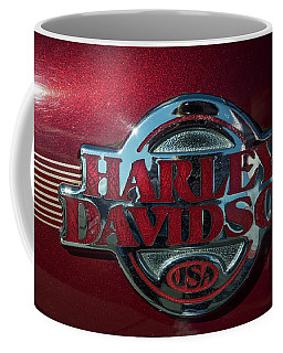 Coffee Mug featuring the photograph Harley Davidson 12 by Wendy Wilton