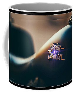 Coffee Mug featuring the photograph Harley Davidson Cycle by Ericamaxine Price