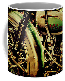 Coffee Mug featuring the photograph Harley Davidson by Joel Witmeyer