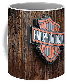 Harley Davidson Sign In West Jordan Utah Photograph Coffee Mug