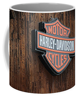 Harley Davidson Sign In West Jordan Utah Photograph Coffee Mug