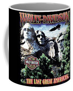 Harley Davidson The Last Great American Coffee Mug