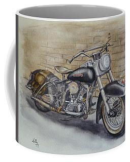 Harley Davidson Vintage 1950's Coffee Mug