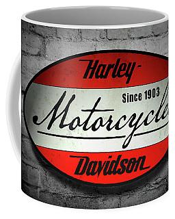 Harley Davidson Vintage Shop Sign  1903 Coffee Mug