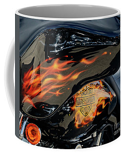 Harley Fire Tank Coffee Mug